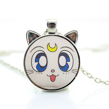 Sailor Moon Collana con ciondolo a forma di GATTO ANIME Artemis/gioielli idea regalo cartoon