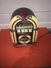 Collector's Edition Vintage Crosley Jukebox AM/FM Radio & Tape Player  Collector