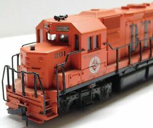 Atlas HO scale GP38  Low Nose Detroit, Toledo & Ironton #201 DCC compatible.