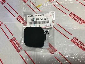 *NEW LEXUS LS430 FRONT BUMPER TOW HOOK CAP COVER 2004-2006 OEM BLACK