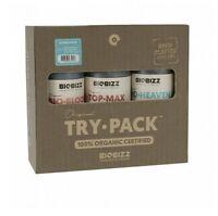 BIOBIZZ - Try-Pack de Fertilisant/ KIT Engrais 100% Bio pour culture Hydro - FR