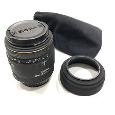 Sigma Macro Lens 50mm F/2.8 EX DG 1:1 for Canon EF