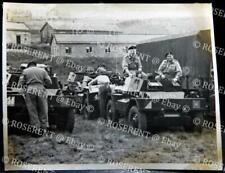 1950s Daimler Dingo Scout Cars - T.A. Camp Penhale #1 - Photo 11.5 by 9cm