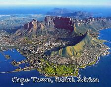 South Africa - CAPE TOWN - Travel Souvenir FLEXIBLE FRIDGE MAGNET
