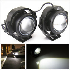 2Pcs CREE U2 LED High Power Hawkeye Projector Lamp For Car Daytime DRL Fog Light