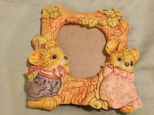 PHOTO FRAME MICE MOUSE KIDS LOVE 2 1/2 x 3 1/2