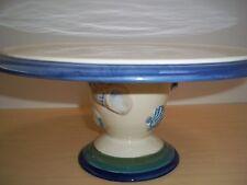 Pfaltzgraff Ocean Breeze Footed Cake Plate - Shell Design