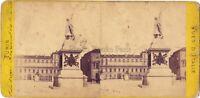 Torino Palais Royal Soprammobile Italia Stereo Albumina Ca 1865