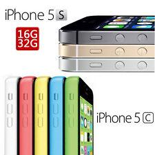 Apple iPhone 5C 5S 6 16GB 32GB 64GB Smartphone liberado de Fábrica Grado A +++