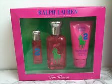 Ralph Lauren - 'Big Pony' Pink 2 - EDT 50ml EDT 10ml, Body Lotion Womens Perfume