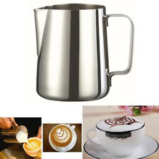 350ml Stainless Steel Milk Frothing Jug Frother Coffee Container Metal Pitcher