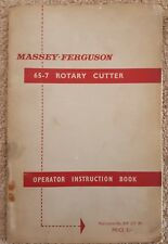 FERGUSON 65-7 ROTARY CUTTER OPERATORS MANUAL