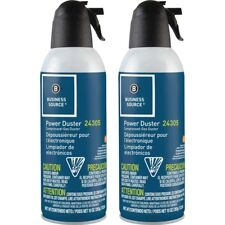 Business Source Air Duster Cleaner Moisture-free/Ozone Safe 10 oz. 2/PK 24302