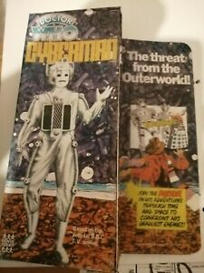 Doctor who denys Fisher cyberman box. Repo. New.
