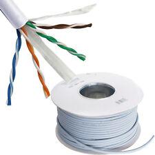 100M CAT6A Copper Network Cable Reel Box -10GBASE-T Ethernet - Drum LAN UTP RJ45