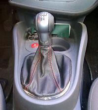seat LEON TOLEDO ALTEA 2006 - 2012 cuffia cambio in vera pelle nera