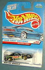 1998 Hot Wheels First Editions #18 Mustang Cobra       Cosen tampo