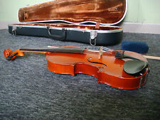Full Sized Student Violin In Excellent Condition - With Case & Bow