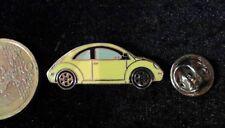 VW Volkswagen Pin Badge Bettle Käfer gelb yellow
