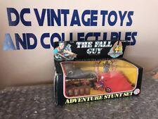 Vintage 1982 HG Toys The Fall Guy Adventure Stunt Set Unused Lee Majors