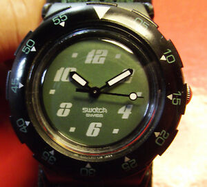 """SWATCH SCUBA """"ACCESS"""" - BEAUTIFUL CONDITIONS - SWISS MADE"""