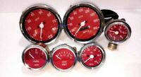 Smiths Replica 52mm Kit- Temp + Oil + Fuel + volt Gauge+ Speedo+ Tacho 85 mm ME