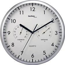 Reloj de Pared con Medidor Temperatura y Humedad Quarz Hogar Despacho NOVEDAD