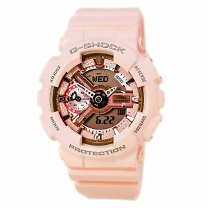 Casio Women's Watch G-Shock S Series Pink & Grey Dial Strap GMAS110MP-4A1