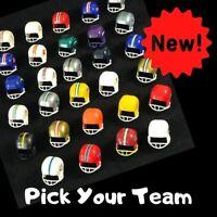 NFL Football Gumball Helmet Mini 70's 80's Sealed Capsule Pick a Team New