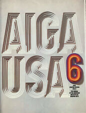AIGA Graphic Design USA: 6 - The annual of the american istitute of ... -  SC148
