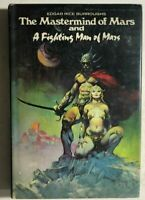 MASTERMIND OF MARS by Edgar Rice Burroughs (1974) Doubleday hardcover Frazetta
