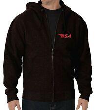 Tribute BSA Embroidered Hoodie zip Hood
