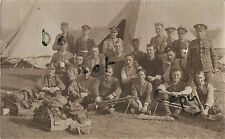 WW1 soldier group West Kent Yeomanry with Hotchkiss Guns and kit laid out