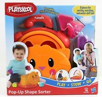 Playskool Pop Up Shape Sorter Ages 2+ New Toy Play Boys Girls Doll Hasbro Baby