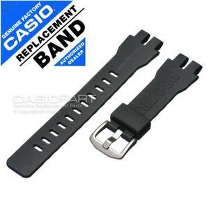 Genuine Casio Watch Band Pro Trek PRG-300-1A9 PRW-3000-1 Dark Grey Rubber Strap