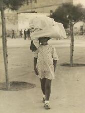 Bambino Sardo. Foto originale di agenzia tedesca. Sardegna. Antropologia