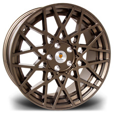 "18"" Stuttgart ST10 Alloy Wheels Bronze 5x100 fits Audi TT 8N Mk1"