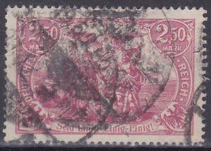 Germany Deutsches Reich 1920 Mi. Nr. 115b High Value 2.50M Definitive USED Gepr.