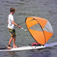 Kayak Downwind Wind Paddle Sail Canoes Boats Drifting Accessories Clear Window