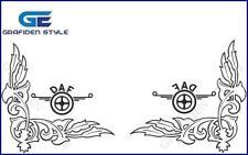 1 Paar DAF - LKW Seitenfenster Aufkleber - Sticker / Decal, H 38cm !<>!
