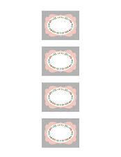 50 Marmeladen Etiketten, Aufkleber für Marmeladengläser, Sticker Etiketten