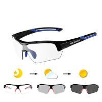Photochromic Cycling Sunglasses For Men Women Bike Glasses Polarized Eyewear UV