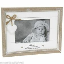 Wooden Heart Standard Photo & Picture Frames