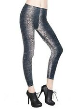 New Women's Fashion Feathery Leopard Animal Printed Leggings One Size.