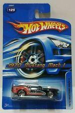 2006 Hot Wheels 1970 Mustang Mach 1 Black 125
