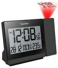 Youshiko MSF Radio Control  Projection Alarm  Clock ( UK Version )