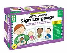 LET'S LEARN SIGN LANGUAGE, GRADES PK - 2 - NEW PAPERBACK BOOK