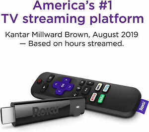 Roku Streaming Stick 4K Streaming Media Player with Voice Remote 3810R BRAND NEW
