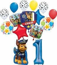 Paw Patrol Party Supplies Chase, Marshal and friends 1st Birthday Balloon Bou...