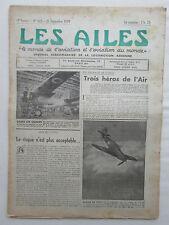 AILES 1939 960 GUERRE AERIENNE WWII HA-137 QUEEN BEE SANS PILOTE KOHN MADAGASCAR